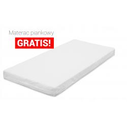 Łóżko piętrowe DOMEK 2 160x80- białe