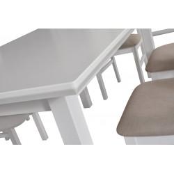 Stół WENUS 5 L S okleina dąb 90x160/240(2x40)