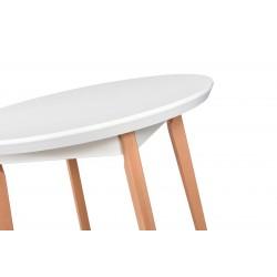 Stół OSLO 4 MDF lakier 100/130 cm