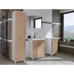 Meble łazienkowe W 4 -D, połysk