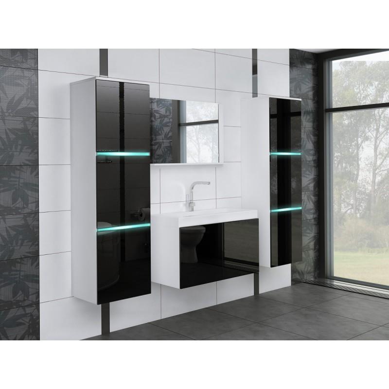 Meble łazienkowe W 3- D, połysk