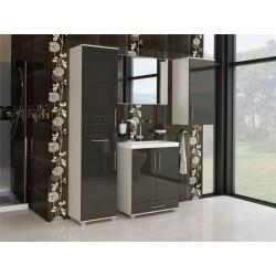 Meble łazienkowe W 2-D, połysk