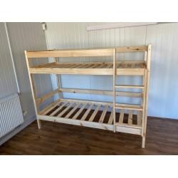 Łóżko piętrowe 80x200-sosna