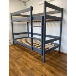 Łóżko piętrowe 80x200 HIT-grafit